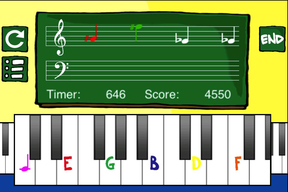 Screenshot Piano Student!