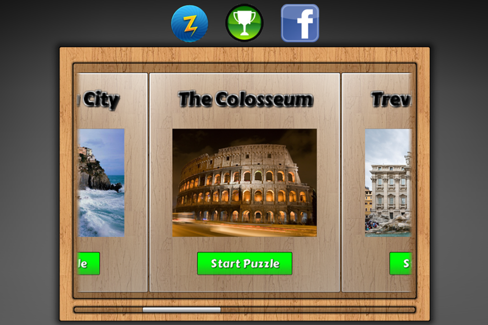 Screenshot Jigsaw hidden objects in Italy – My jigsaws puzzle world trip explorers game